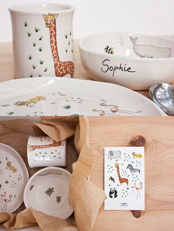Beautiful Handmade Childrens Tableware The Style Files Kids Tableware Toddler Tableware Childrens Pottery