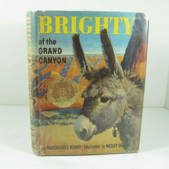 Brighty of the Grand Canyon hardback book by TheFrontHouse on Etsy, $18.00