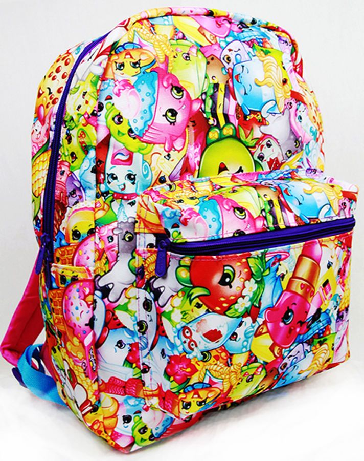 Shopkins 16\' Backpack U.S.A. School Large