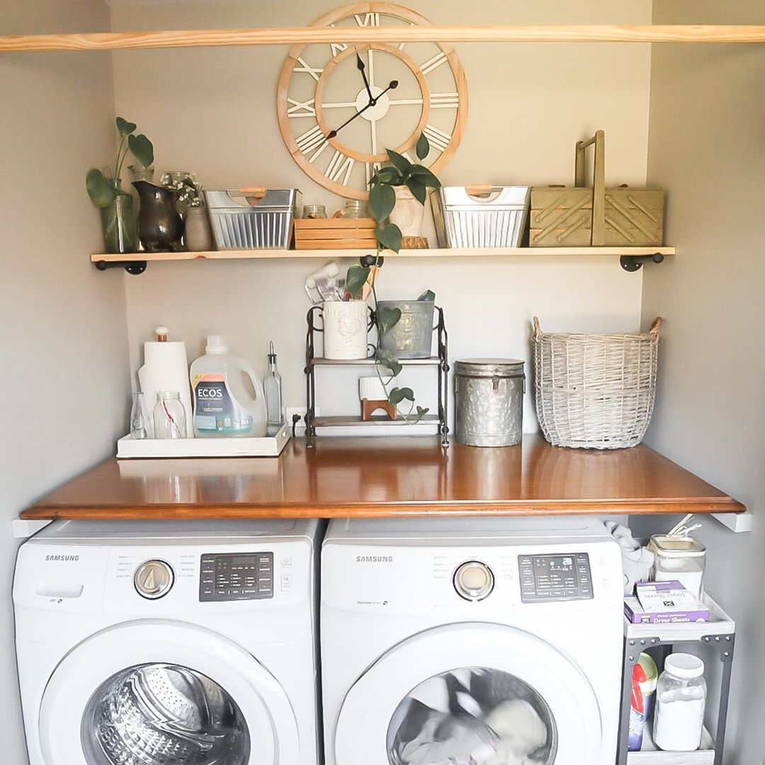 50 Clever Laundry Room Ideas That Are Practical And Space Gothic Home Decor Small Laundry Rooms Home Decor