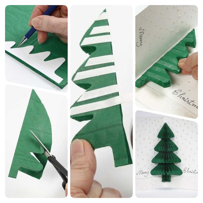 1001  ideen wie sie schöne weihnachtskarten selber
