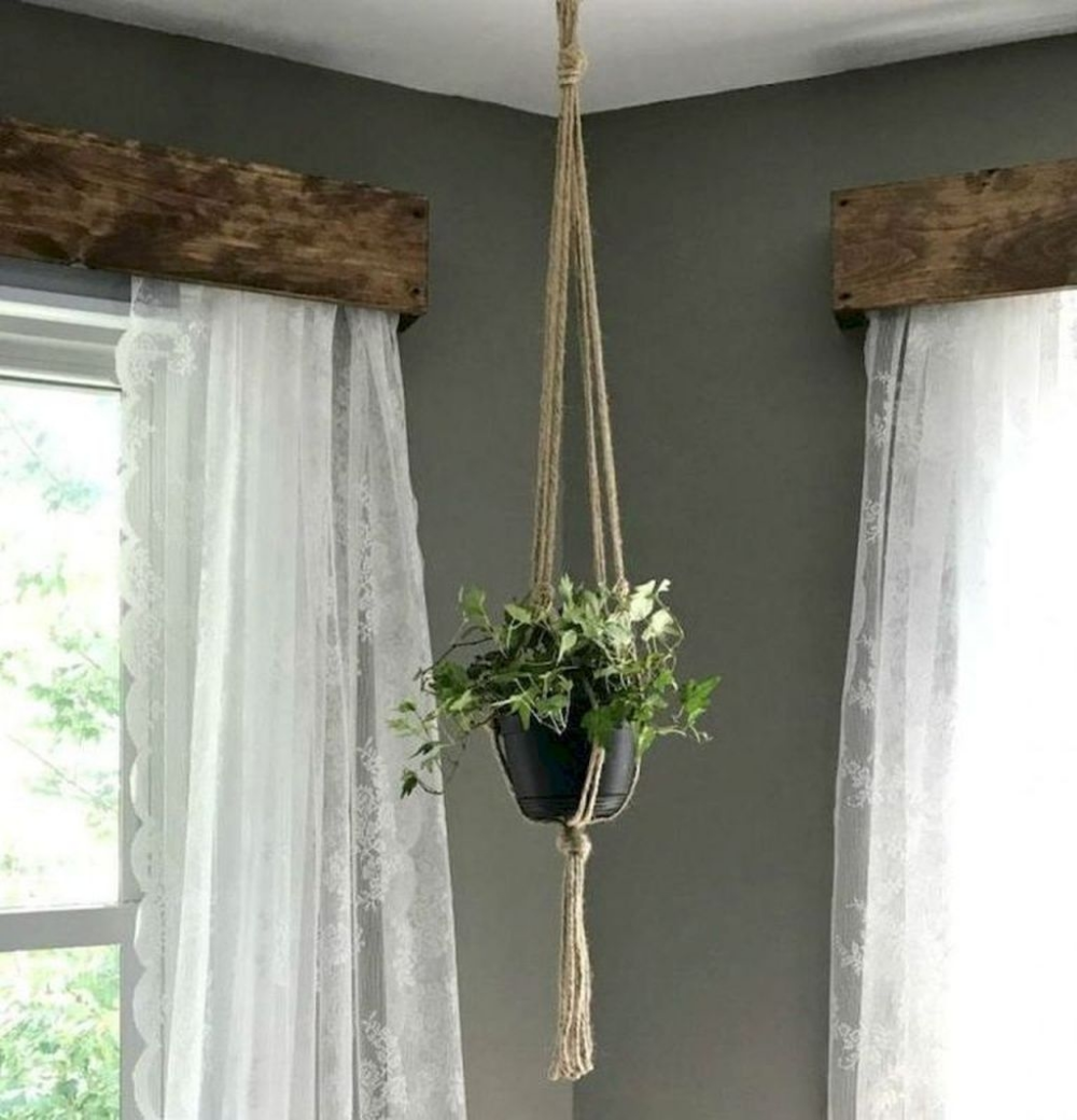 30 Cheap Farmhouse Curtains For Living Room Decorating I