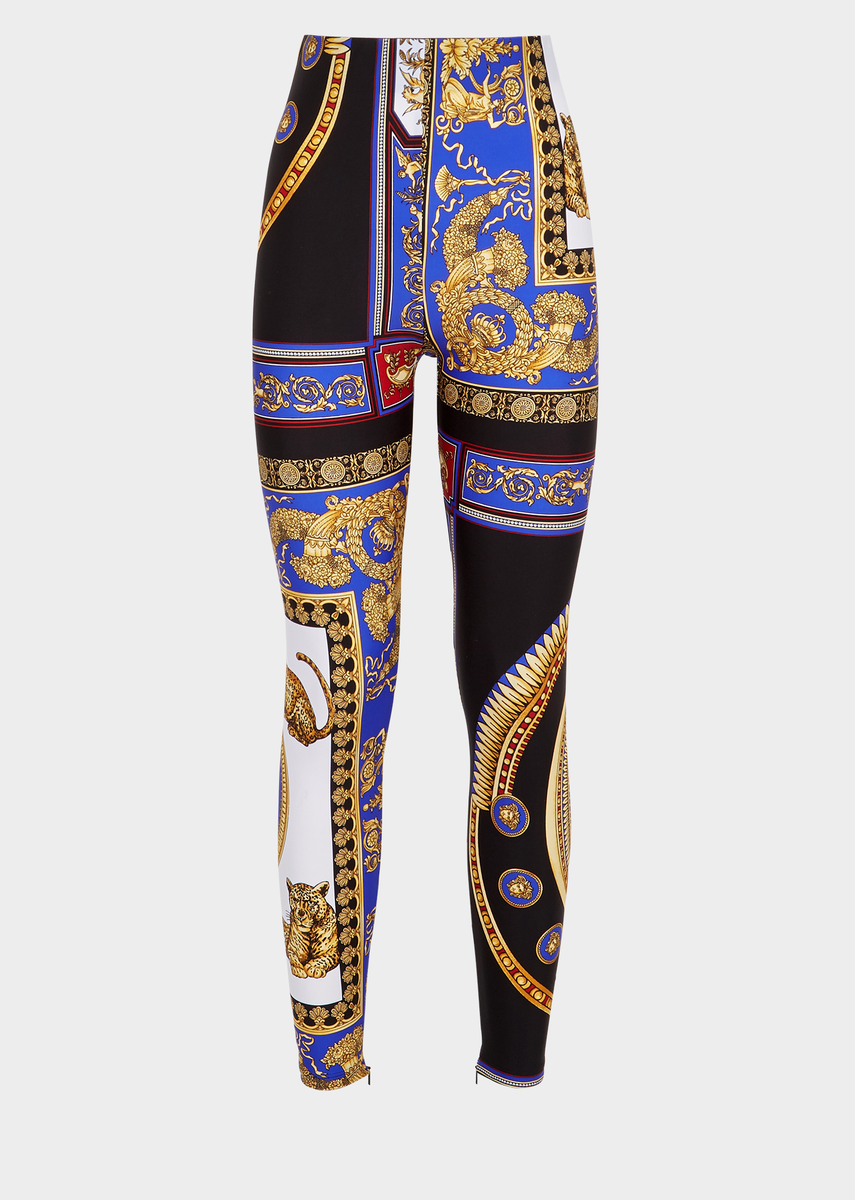 a0c70723f1 the lovers print leggings | Inspired by fashion in 2019 | Versace ...