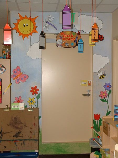 Wall Murals by Colette Playroom Daycare Pre School Wall Murals