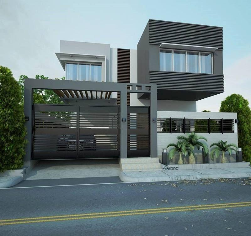 Audi Car Parking Facility With Exterior Design For Independent Villa AudiCar