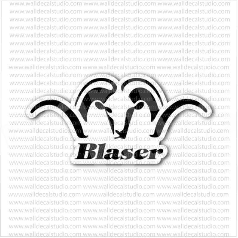 Blaser Firearms Hunting Rifles Emblem Sticker