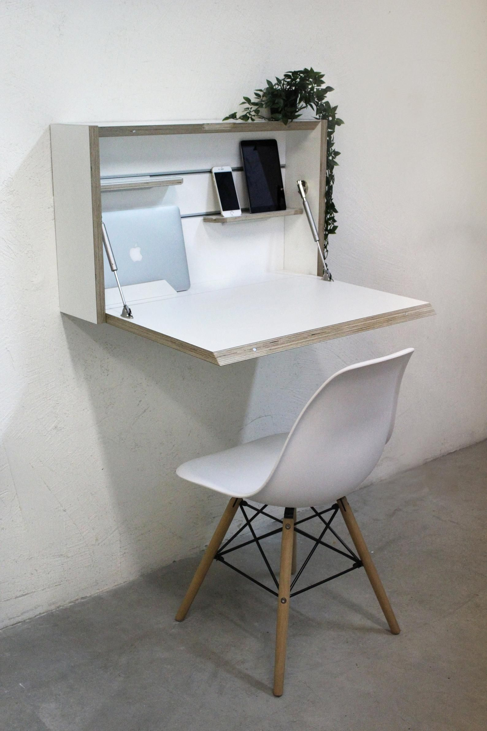 Wall Mounted Folding Desk E Saving