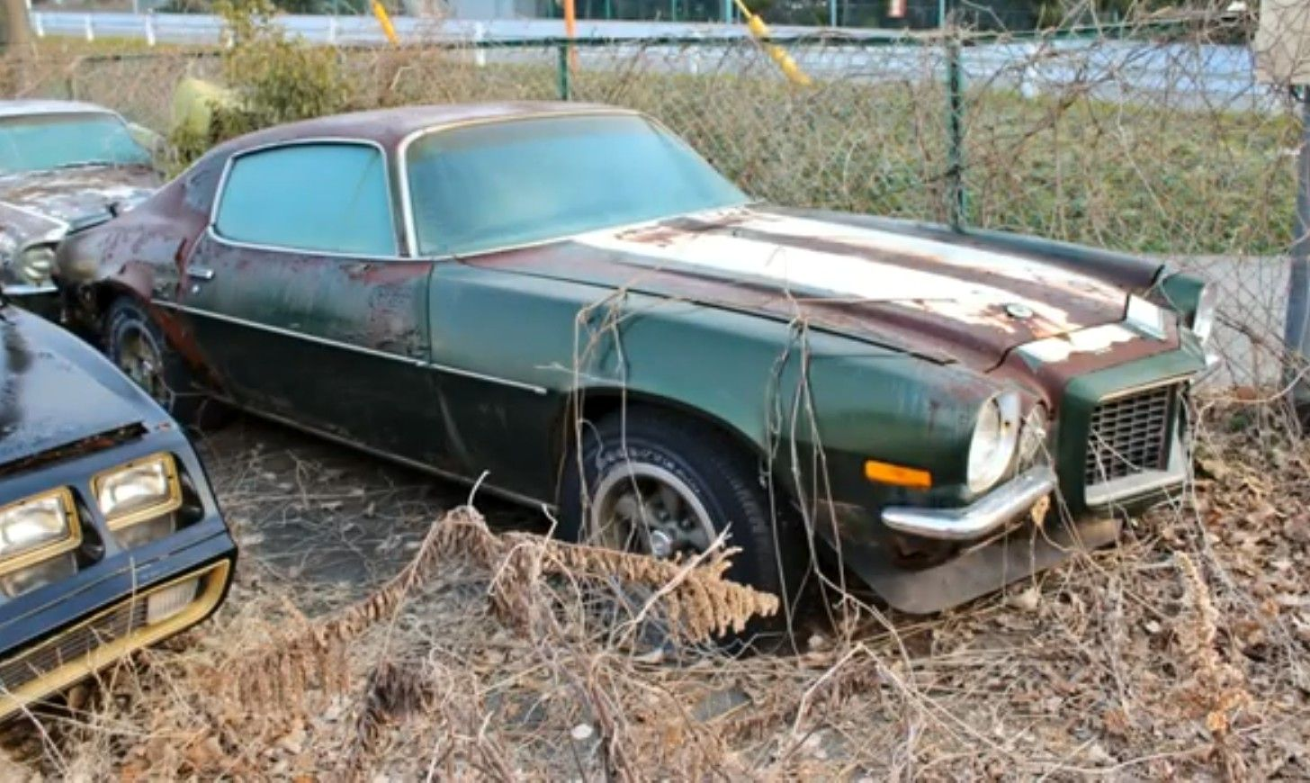abandoned z/28 camaro | Abandoned, Cars and Barn finds