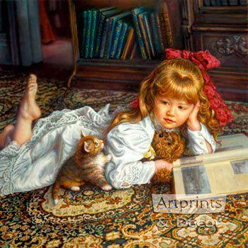 Kitten Tales - Art Print
