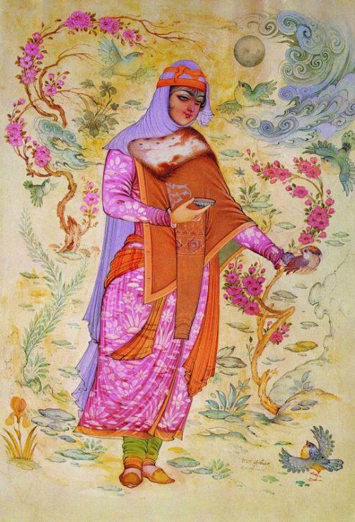 Персидская миниатюра.