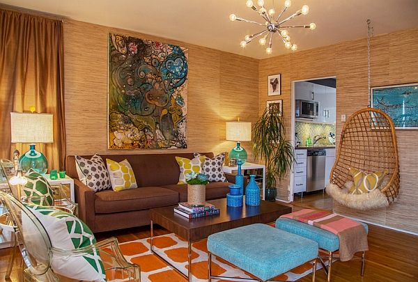 Retro Living Room Ideas And Decor Inspirations For The Modern Home Retro Living Rooms Eclectic Living Room Retro Style Living Room