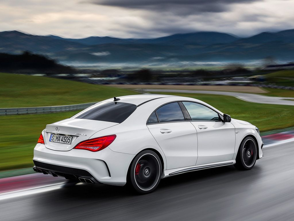 When the new york auto show kicks off next week mercedes benz will be unveiling a new performance car called the cla 45 amg the car was supposed to make
