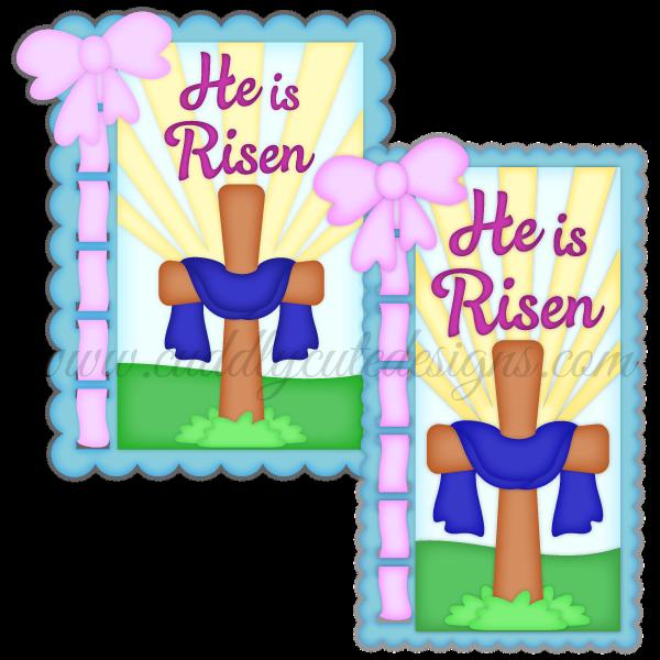 He Is Risen Easter Cross Easter Kids He Is Risen