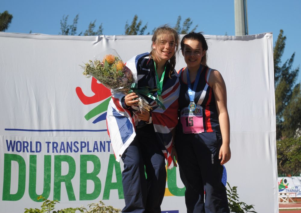 """""""The Games were very inspirational as every person was there because they had had a second chance at life."""" Read Flora's blog about her amazing time at the World Transplant Games: http://blog.gosh.org/patientsandparents/world-transplant-games/"""