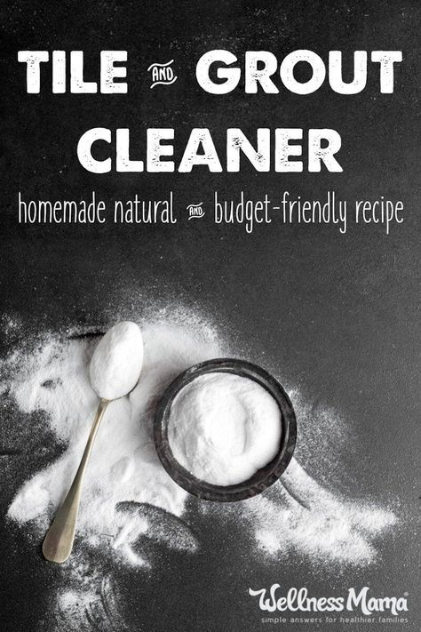 This natural tile and grout cleaner recipe will get rid of mold and mildew without chemicals. Inexpensive to make and safe to use around children.