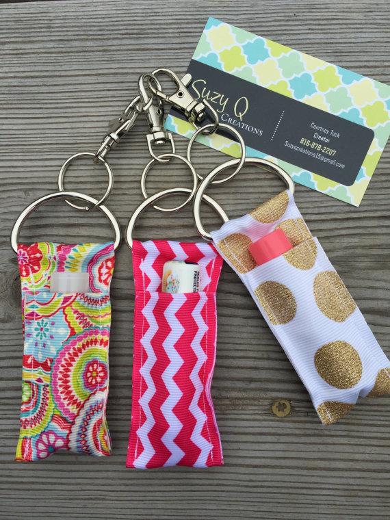 Handmade Chapstick Holder Keychain Craft Chapstick Holder Diy