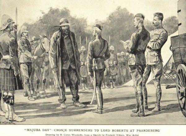Boer War -- Surrender of General Cronje (a British view)