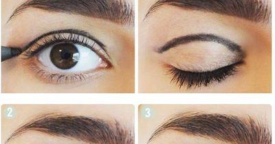Ein elegantes Augen Make-Up