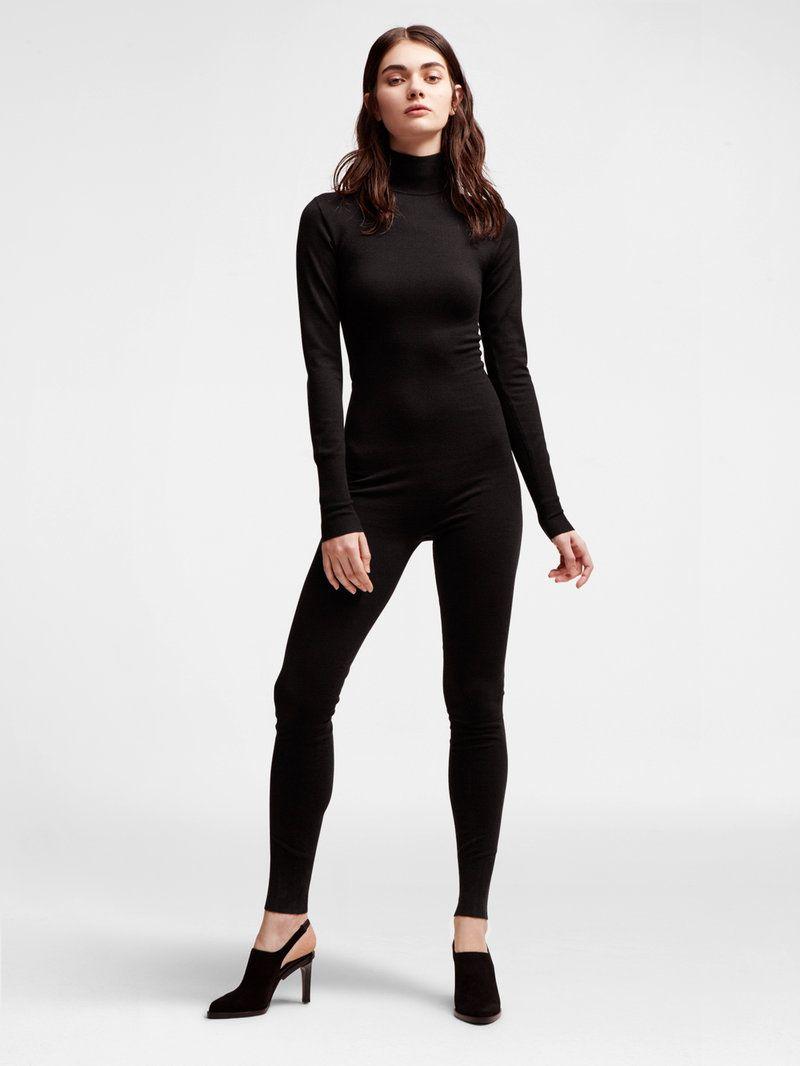 0ade59f643 DKNY Wool Turtleneck Bodystocking.  dkny  cloth