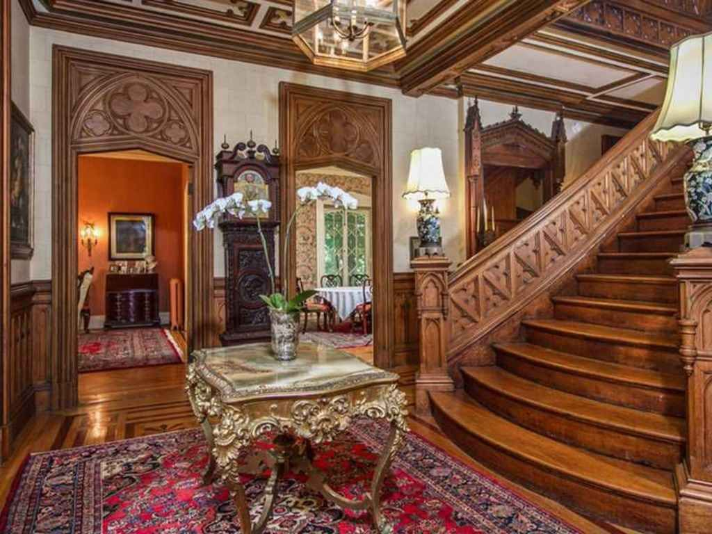 Marvelous Gothic Revival Interior Contemporary
