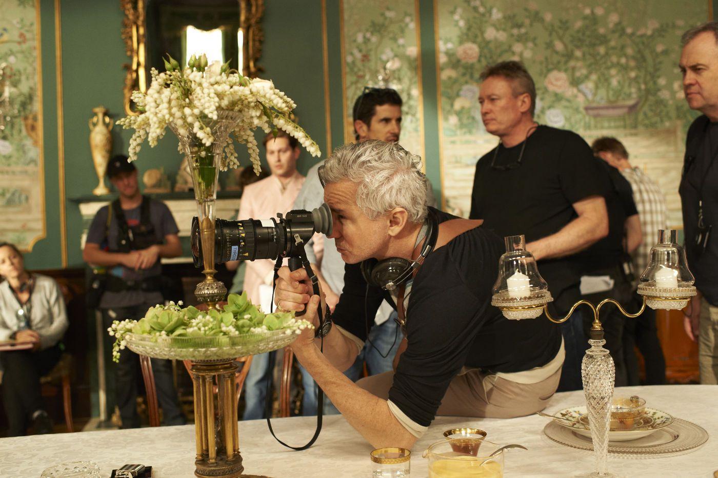 The Great Gatsby - Baz Luhrmann on set