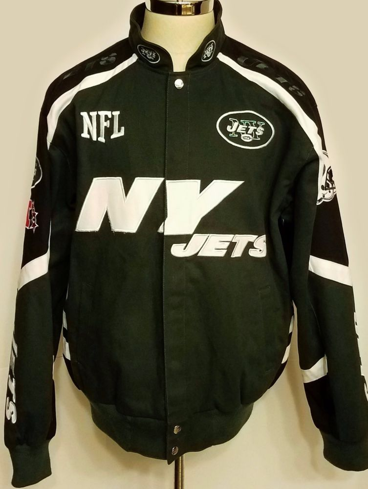 huge discount f4fa1 bc2a8 Details about NFL NEW YORK NY JETS JH DESIGN WOOL POLY TWILL ...