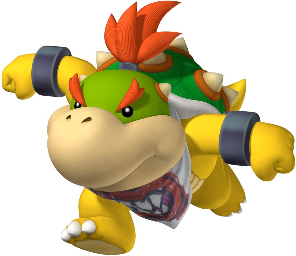 Bowser Jr Mario Bros Super Mario Bowser