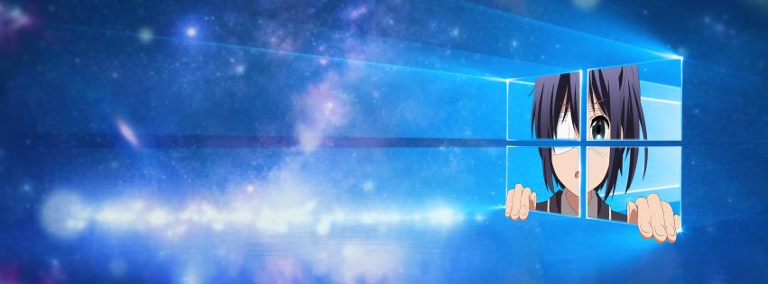 Windows 10 Rikka Chuunibyou Anime Love, Chunibyo & Other