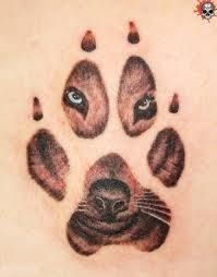 Siberian Husky Facts And Owner Tattoos Dog Pawprint Tattoo Dog