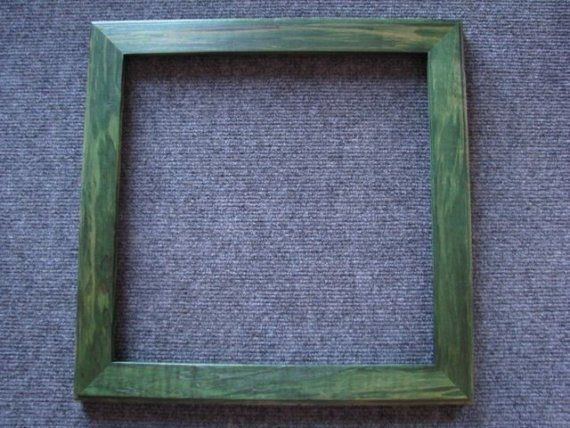 12 X 12 Rock Maple Green Dye Picture Frame Picture Frames Green Pictures