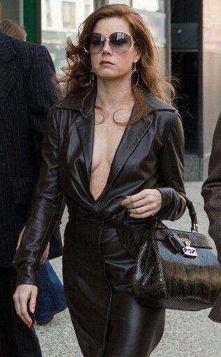 4496b8189d9f Amazing Leather dress ! Amy Adams in American Hustle