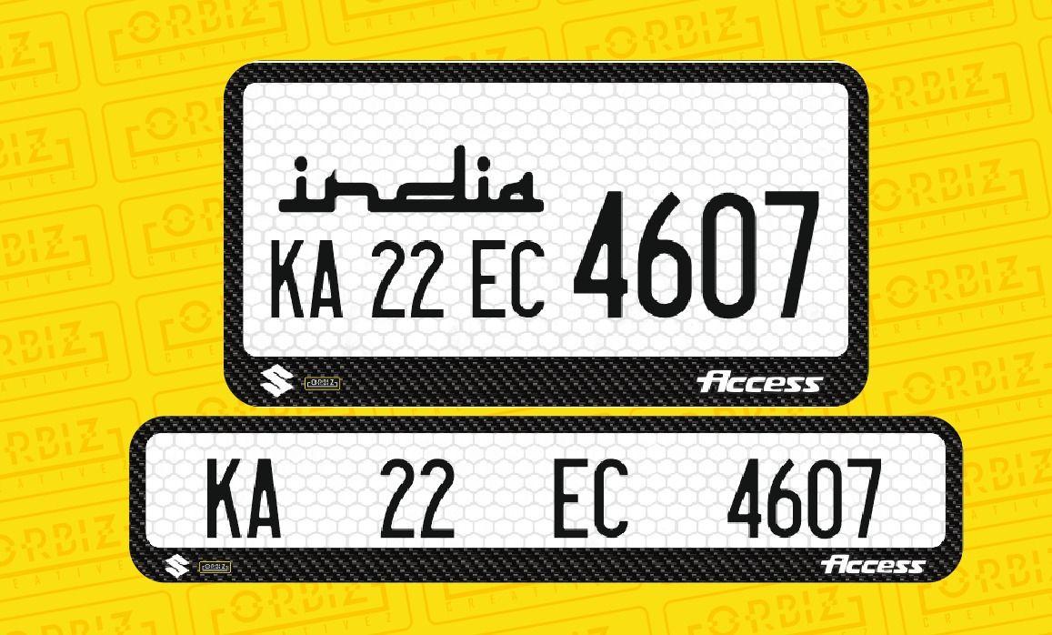 Bike Number Plate Design Online Number Plate Design Number