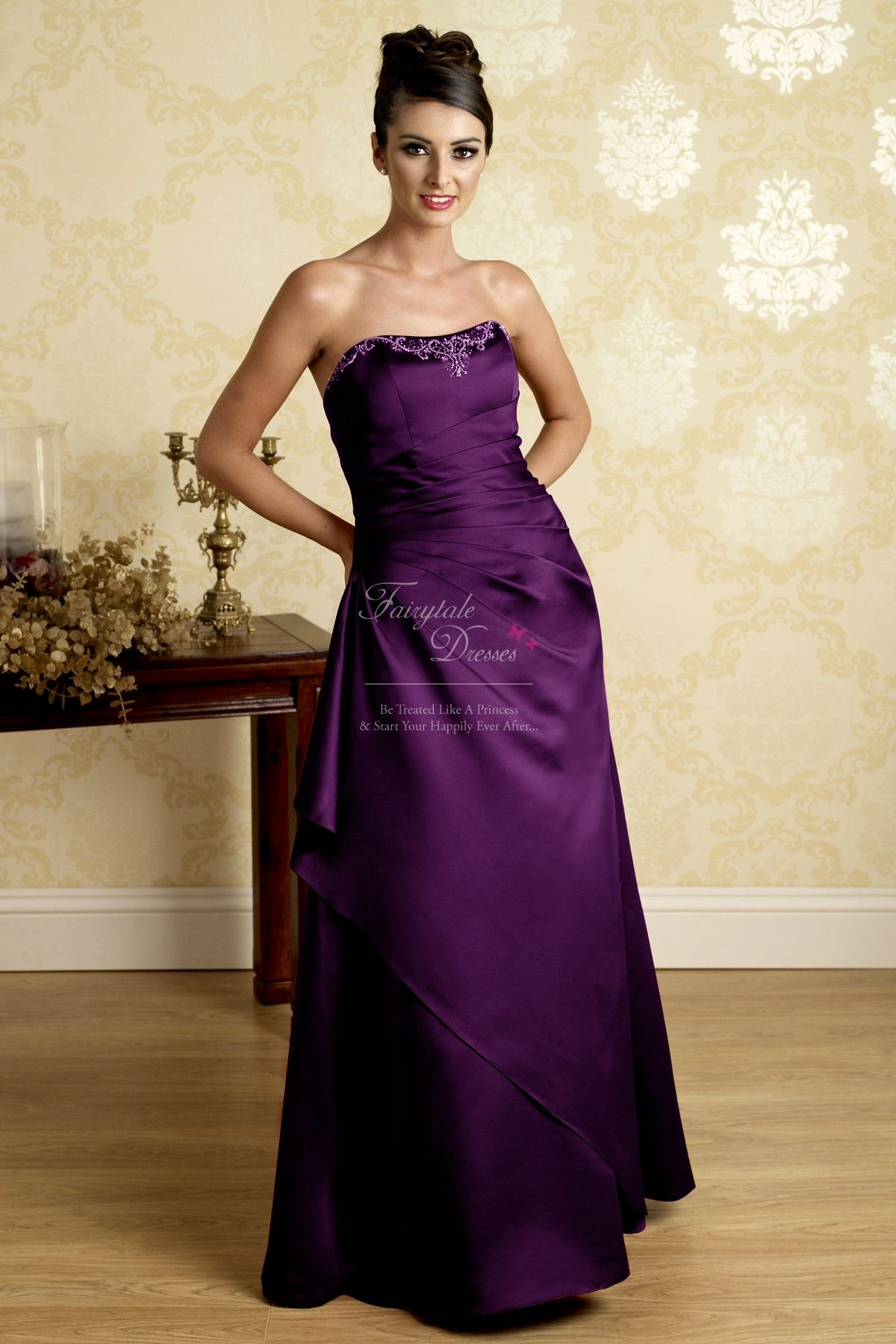 Cadburys bridesmaid outfit timeless wedding and fashion wedding cadburys long purple bridesmaid dressesbridesmaid ombrellifo Images