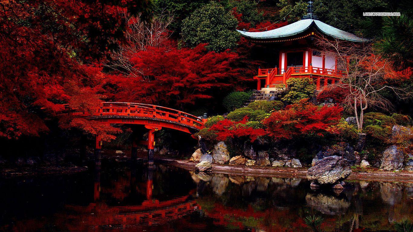 Image Result For Spring Japanese Garden Wallpaper