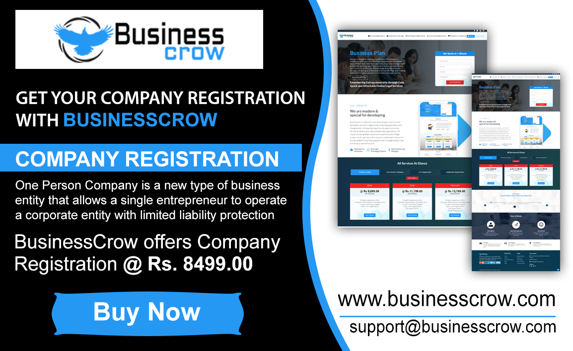 The Company Registration plays an important role in your