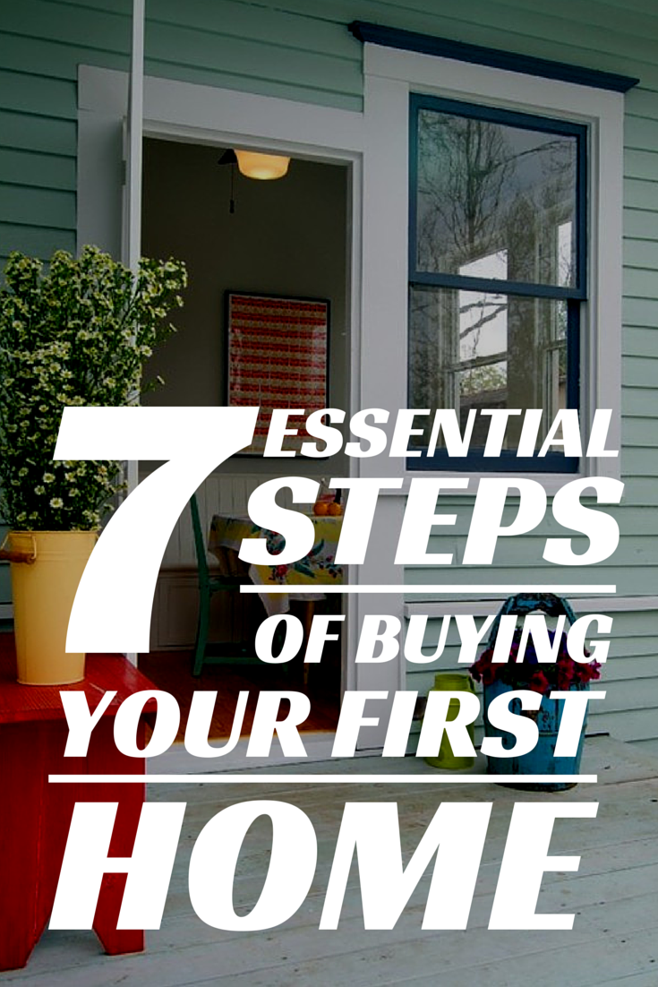 The 7 Essential Steps Of Buying Your First Home Buying Your First Home Buying First Home First Home