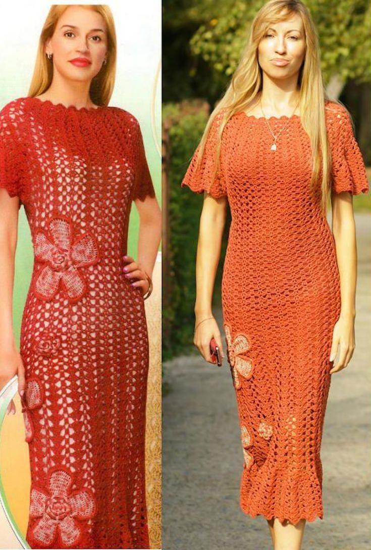 12 Crochet Dress Patterns for Easy Summer Style | Crochet dress ...