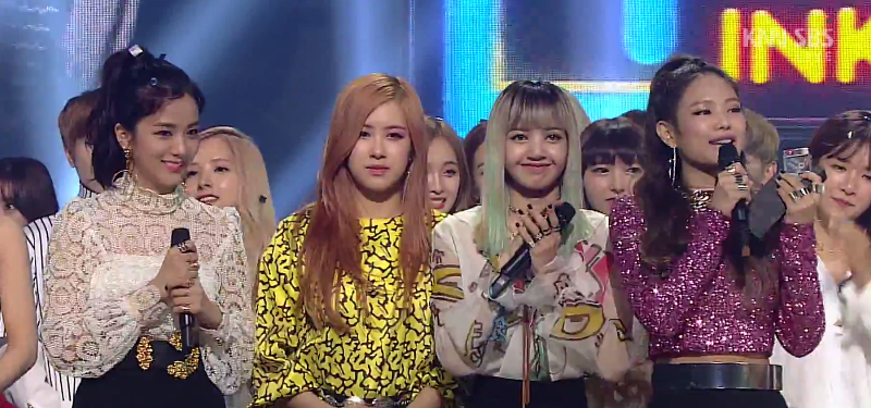 Blackpink Wins Inkigayo With Whistle Performances By Exo Nct 127 Vixx And Blackpink Vixx Music Tv
