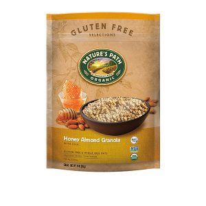 Gluten Free Selections Honey Almond Granola | Nature's Path