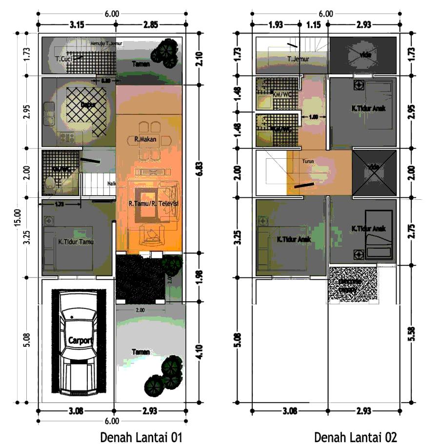 Desain Rumah Type 45 Hook Cek Bahan Bangunan