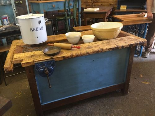 Upcycled Kitchen Island Ade From An Old School Cdt Woodworking