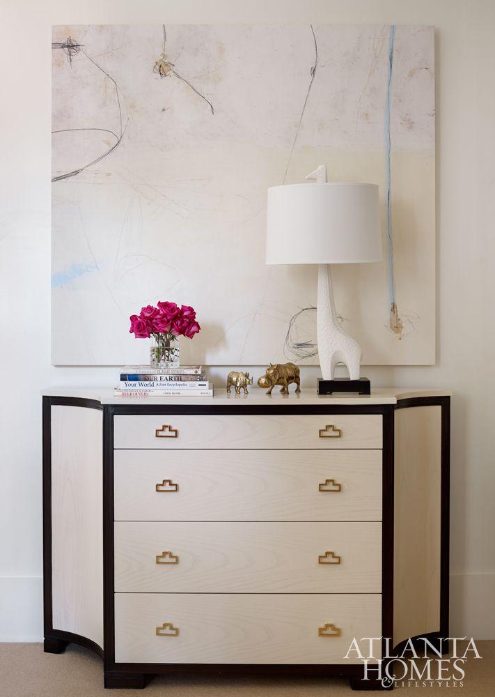 Moderno Muebles Pintados Atlanta Viñeta - Muebles Para Ideas de ...