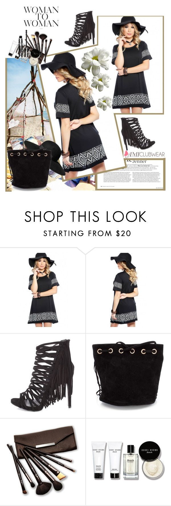 """""""amiclubwear"""" by karic-lejla ❤ liked on Polyvore featuring H&M, Borghese, Bobbi Brown Cosmetics and Givenchy"""