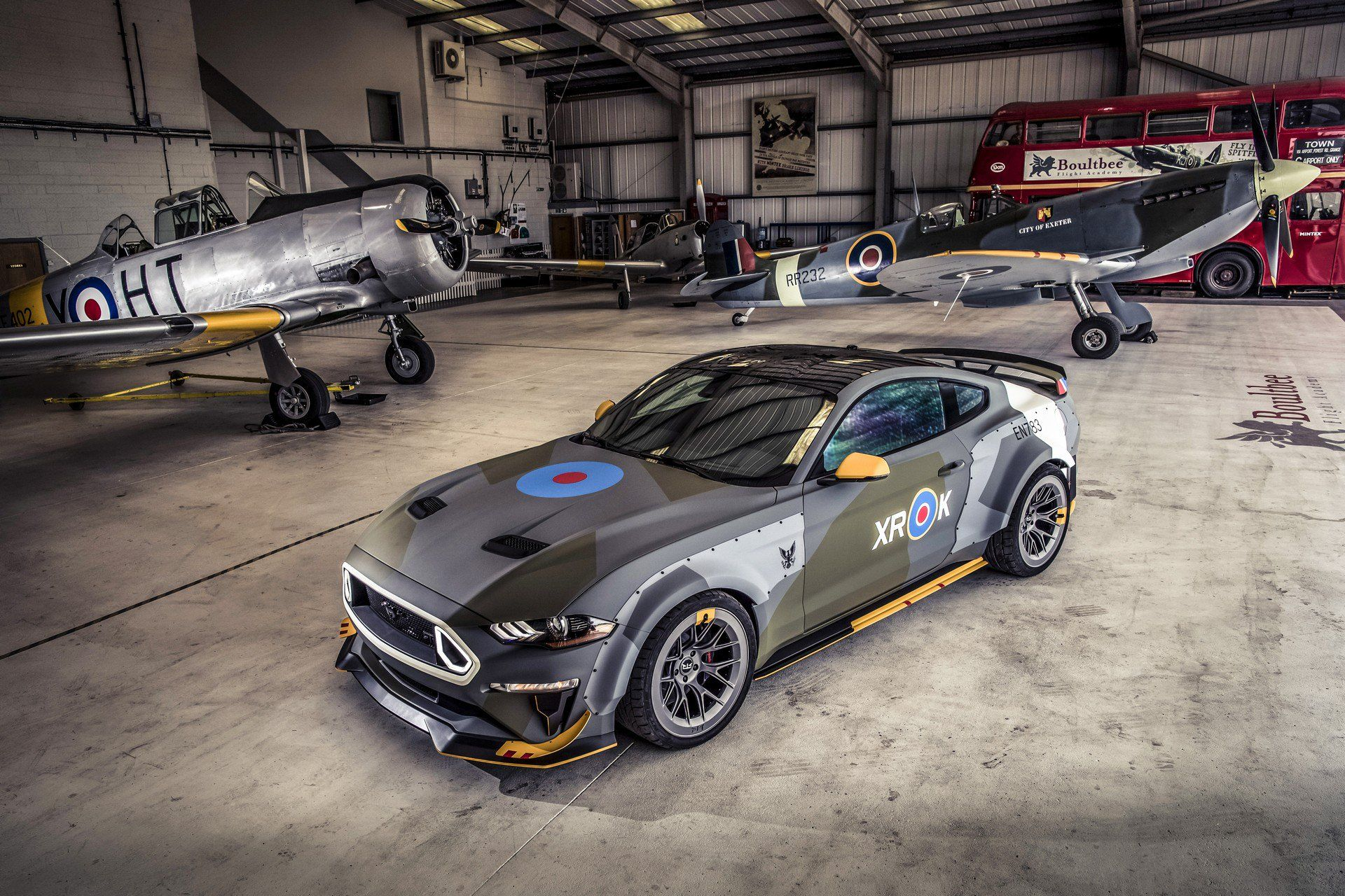 700 Hp Ford Eagle Squadron Mustang Gt Debuts At Goodwood Ford