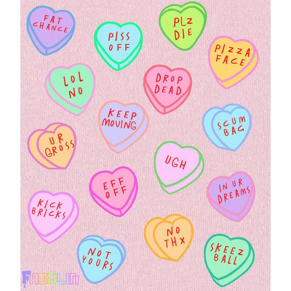 Insult Heart Candy Rude Kawaii Sweatshirt Pastel Goth Pastel Grunge