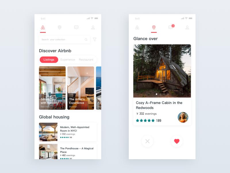 Airbnb Redesign Airbnb App Airbnb Redesign