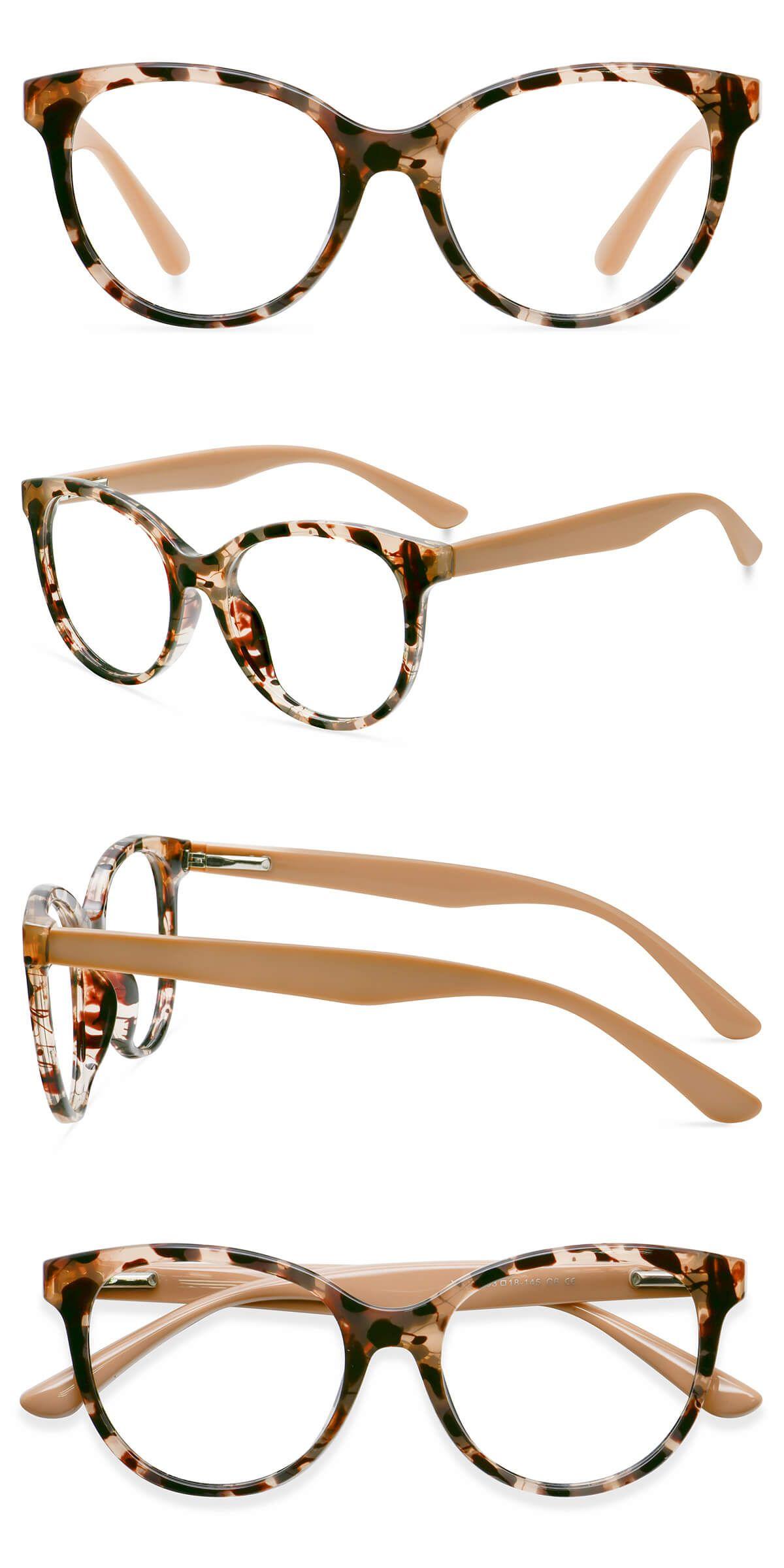 Leoptique Y5203 Leopard In 2020 Handmade Inspiration Cat Eye Frames Purple