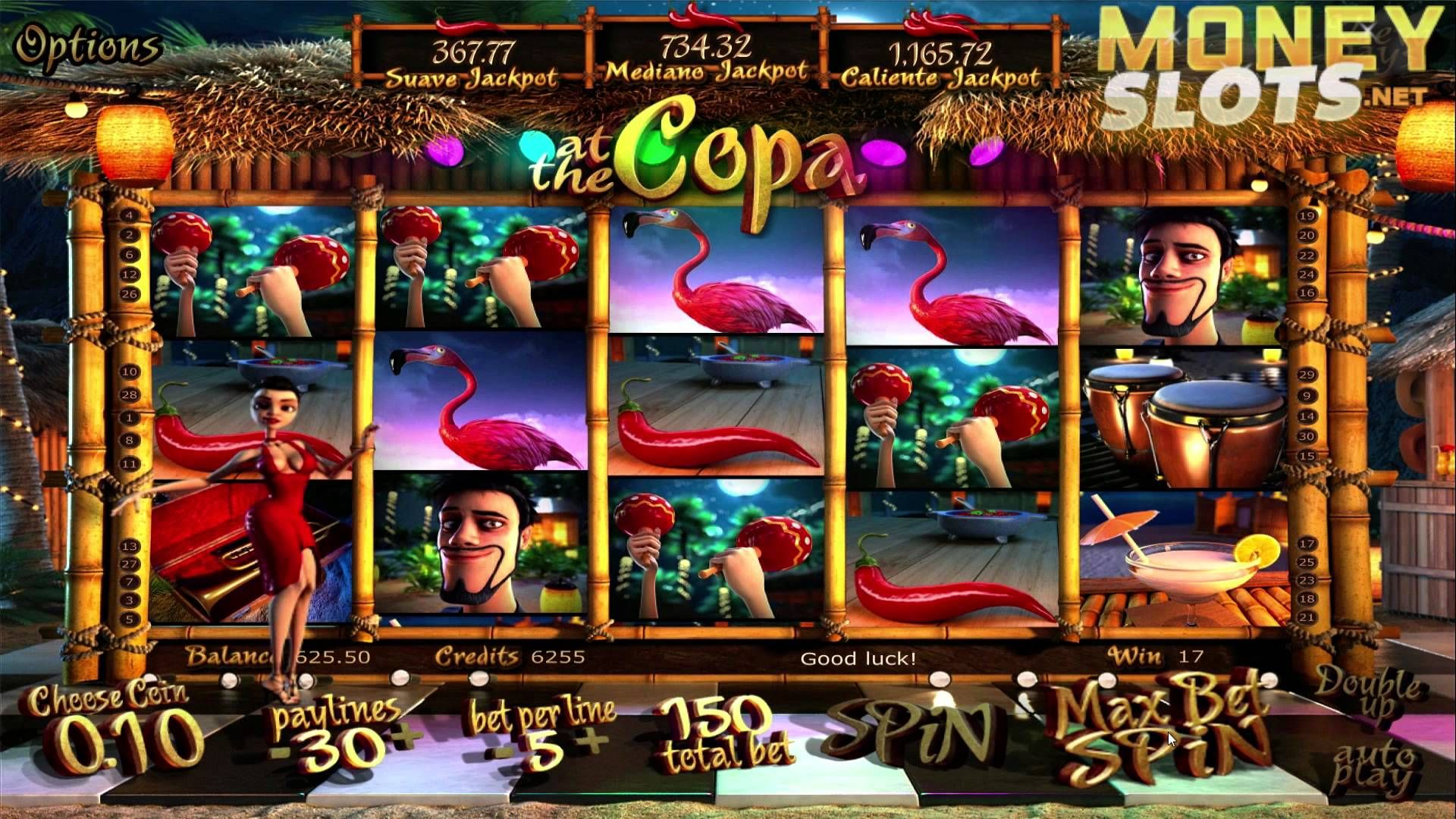 At The Copa Slot Machine