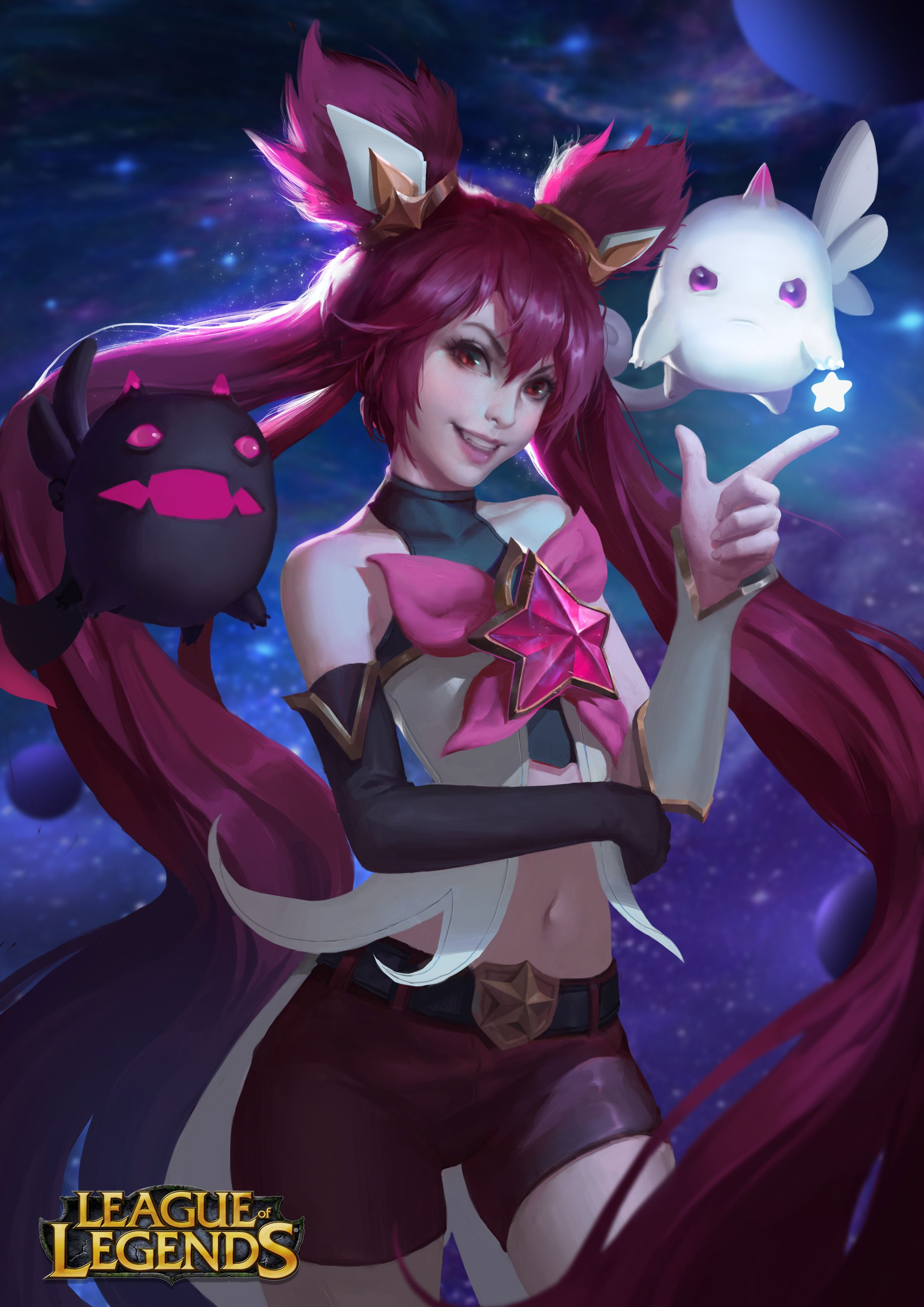 star guardian jinx糖醋莲白_qq hd wallpaper background fan art