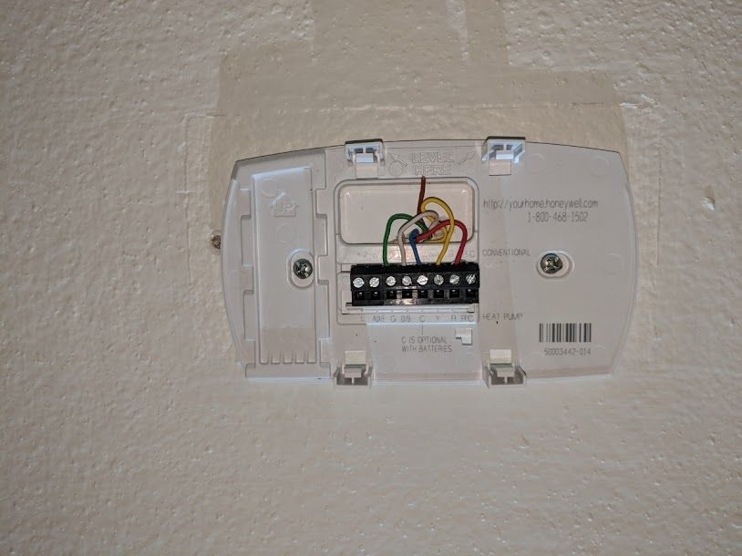 Nest thermostat installation swap the old with the new